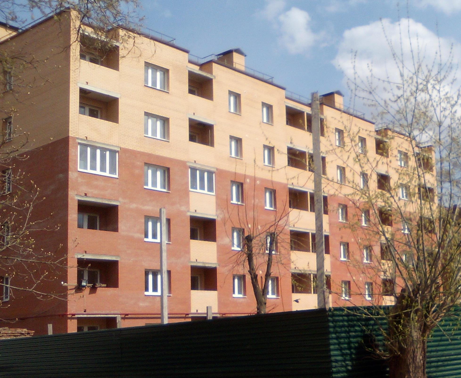 Жилой дом по улице Баженова