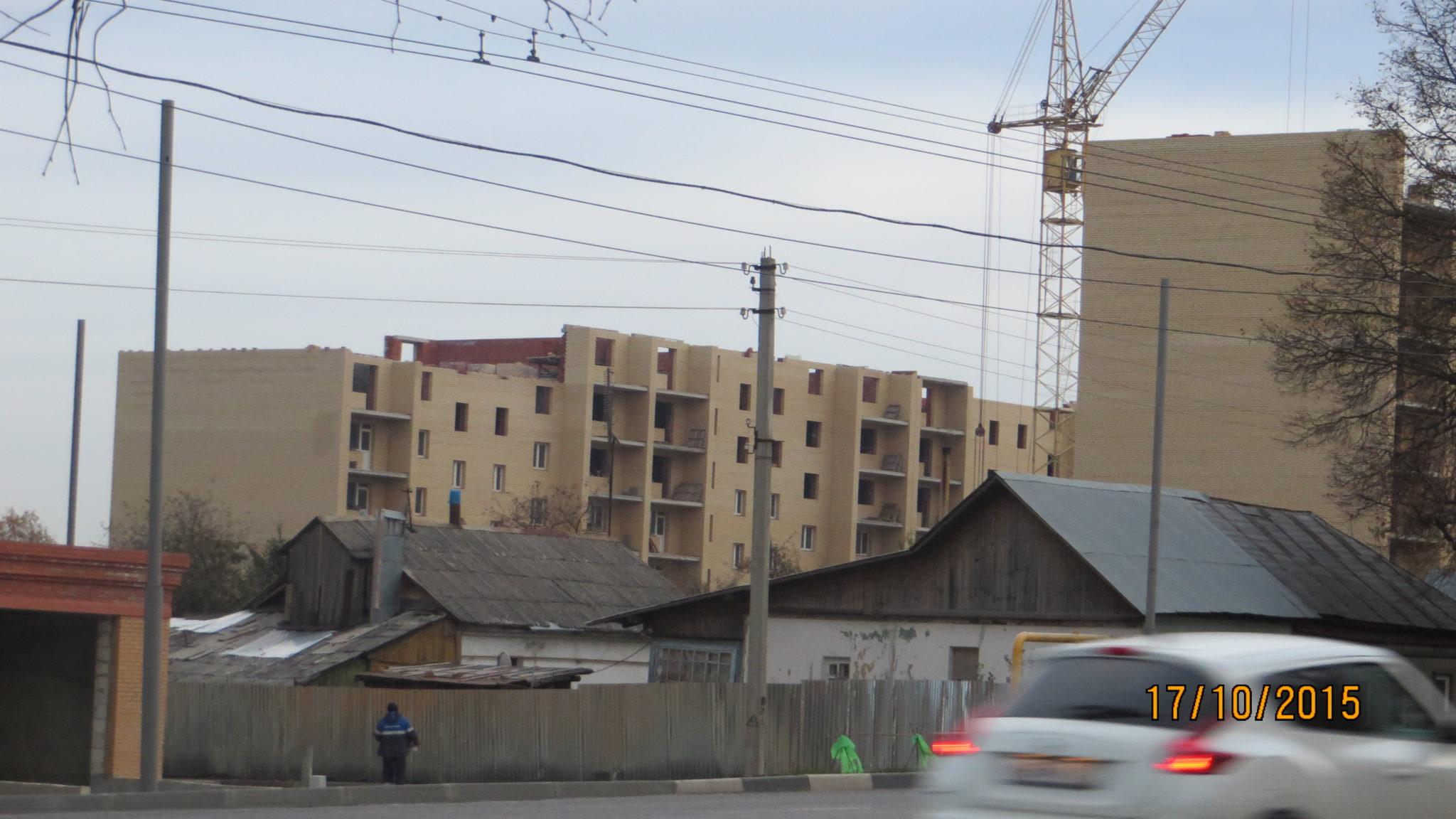 Фото дома по улице Октябрьская г. Тулы. ОАО АК ТулаАгроПромСтрой