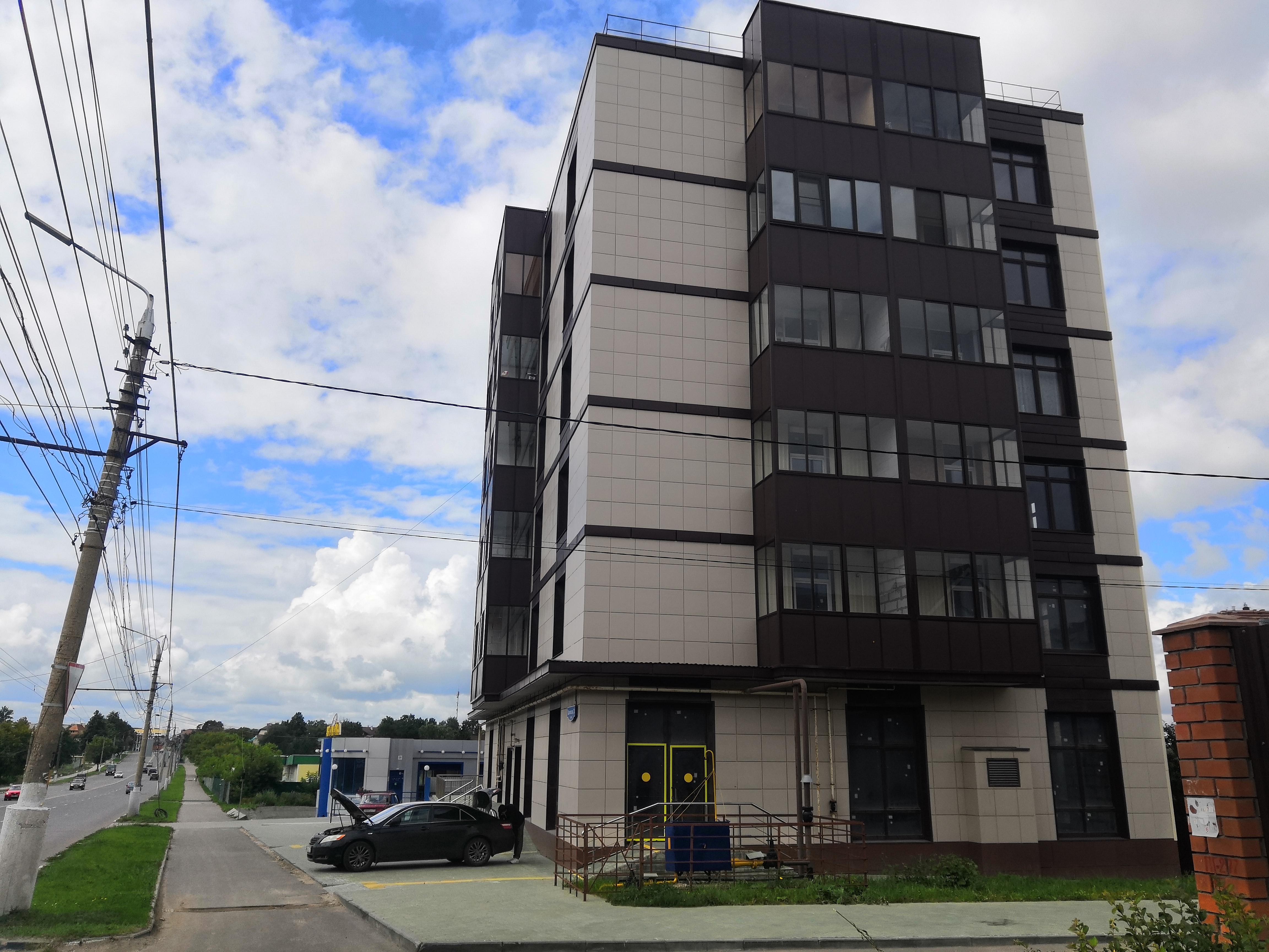 Фото жилого дома по улице Одоевская 31 г. Тула ООО Стандарт
