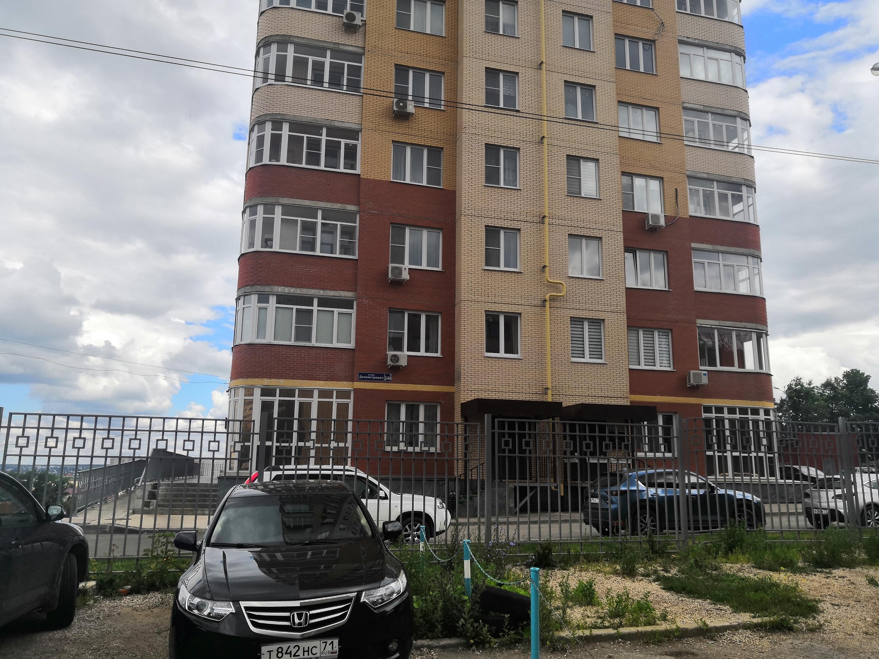 Фото дома по улице Демонстрации 148 г. Тулы ООО ХСЦТЗСМ