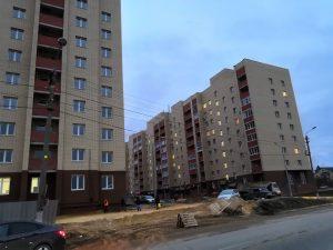 Фото домов ЖК Александровский парк по улице Октябрьская г. Тула. ЗАО Строительно-инвестиционная компания