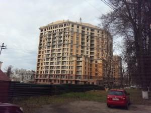 Фотографии домов ЖК НА ПЕРВОМАЙСКОЙ по улице Первомайская г. Тулы. ЗАО Внешстрой