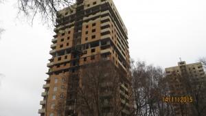Фотографии домов ЖК ВЕРТИКАЛЬ по улице Шухова г. Тулы. ГК Новый город.