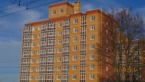 Фотографии домов ЖК Премьера по улице Октябрьская г. Тулы. ГК Новый город.