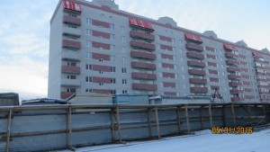 Фотографии домов ЖК по улице Луначарского / Герцена г. Тулы. ООО Тульская строительная компания.