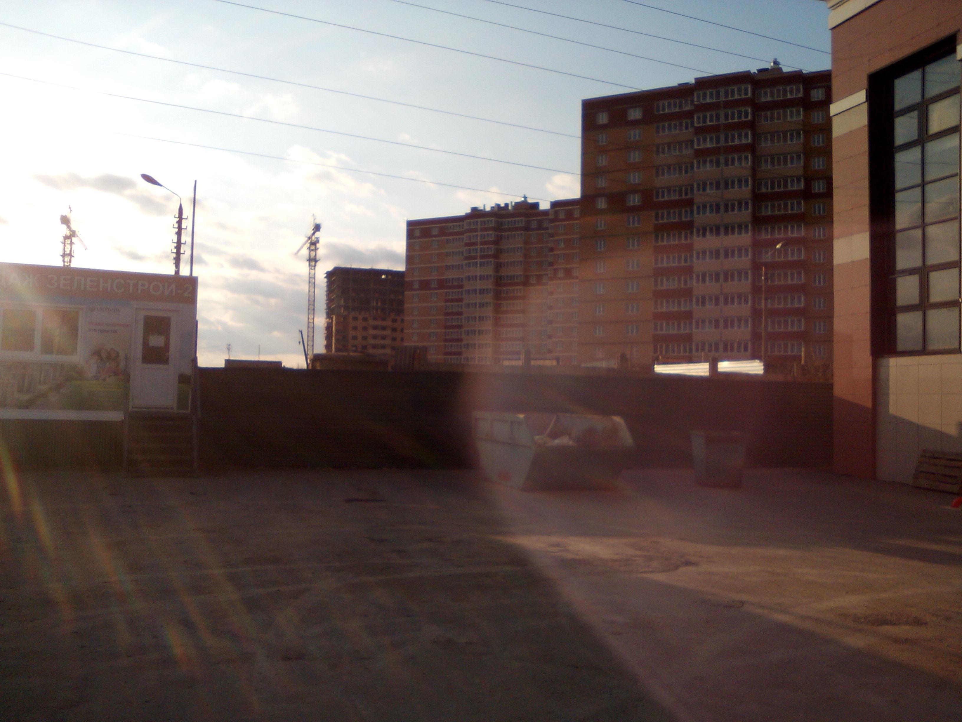 Фотографии домов ЖК микрорайон Зеленстрой 2 по проспекту Ленина. ООО Стройкомплект.