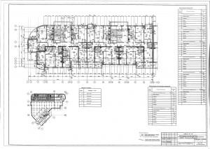 План 3,4 этажа секции А,Б ЖК МАКАРЕНКО