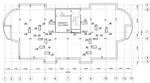 План технического этажа секции Г ЖК МАКАРЕНКО