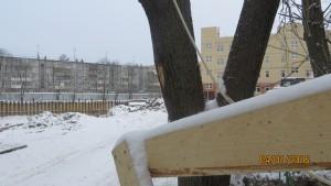 Фотографии дома по улице Вересаева 20 г. Тула. ООО Стройкомплект.