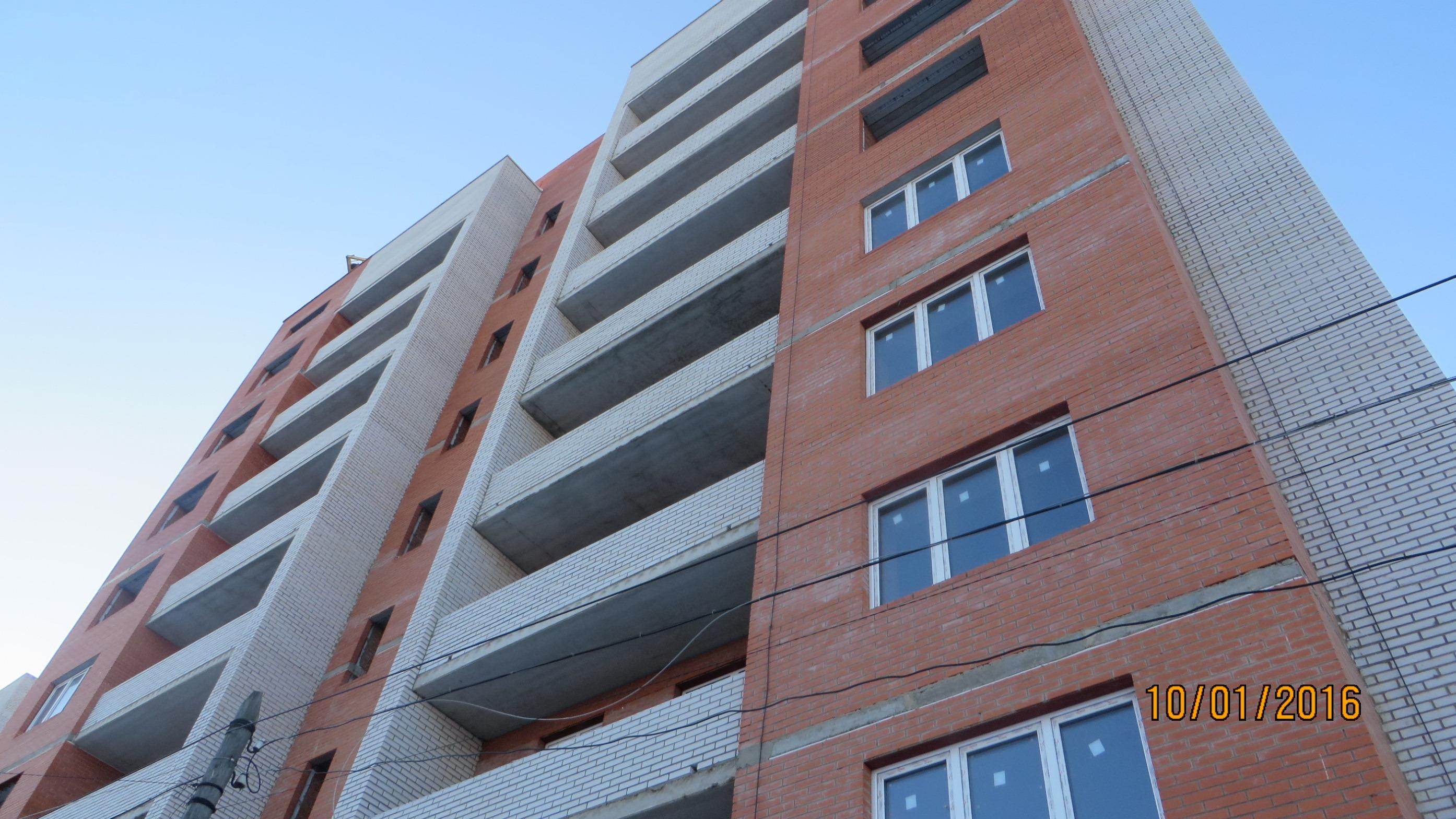 Фотографии жилого дома по улице Пионерская г. Тула. ООО Стромсервис плюс.
