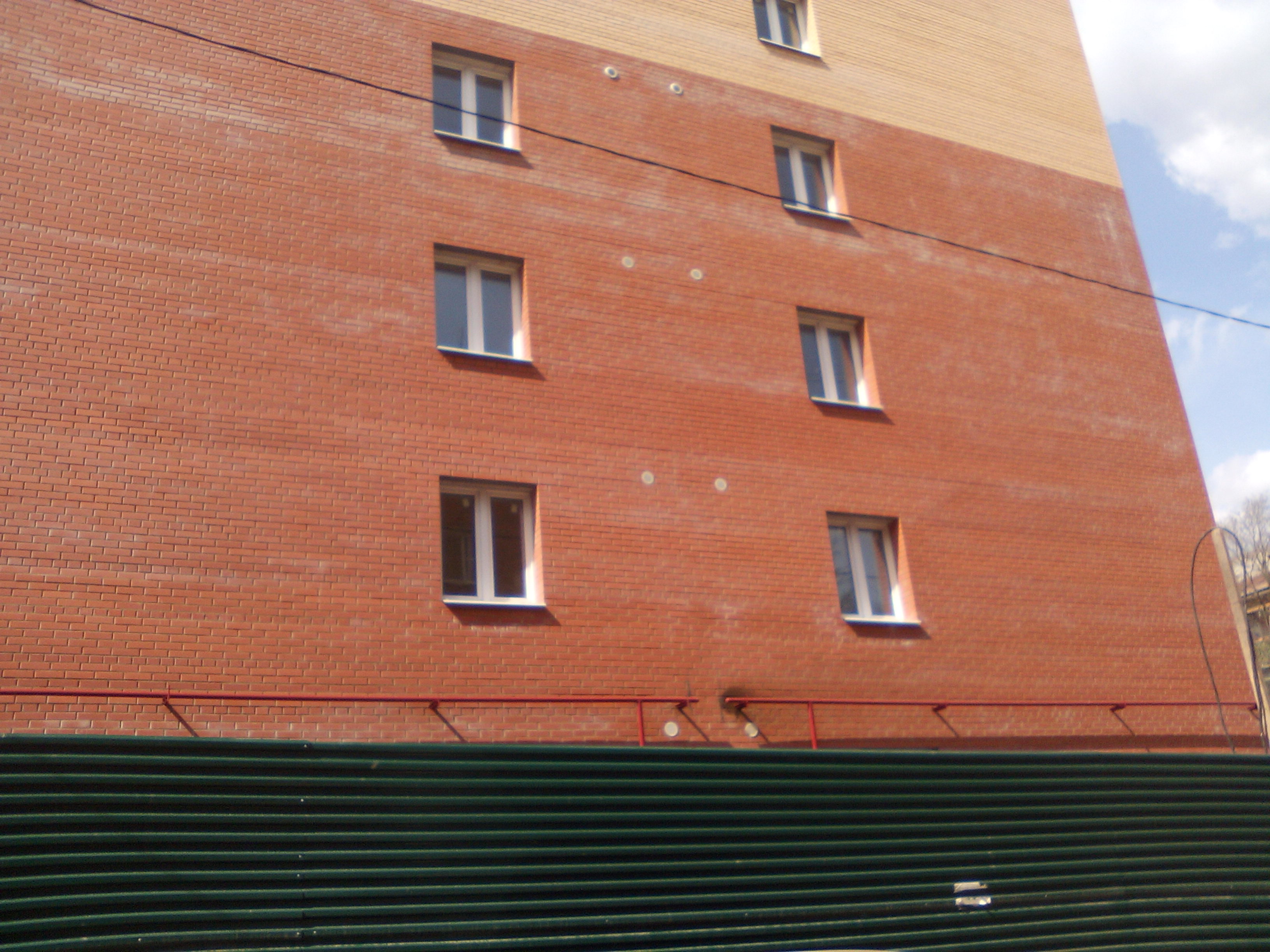 Фотографии жилого дома по улице Баженова г. Тула. ООО Совдел-Строй.