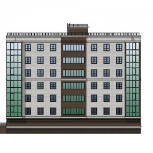 Общий вид жилого дома по ул. Свободы 56А г. Тула