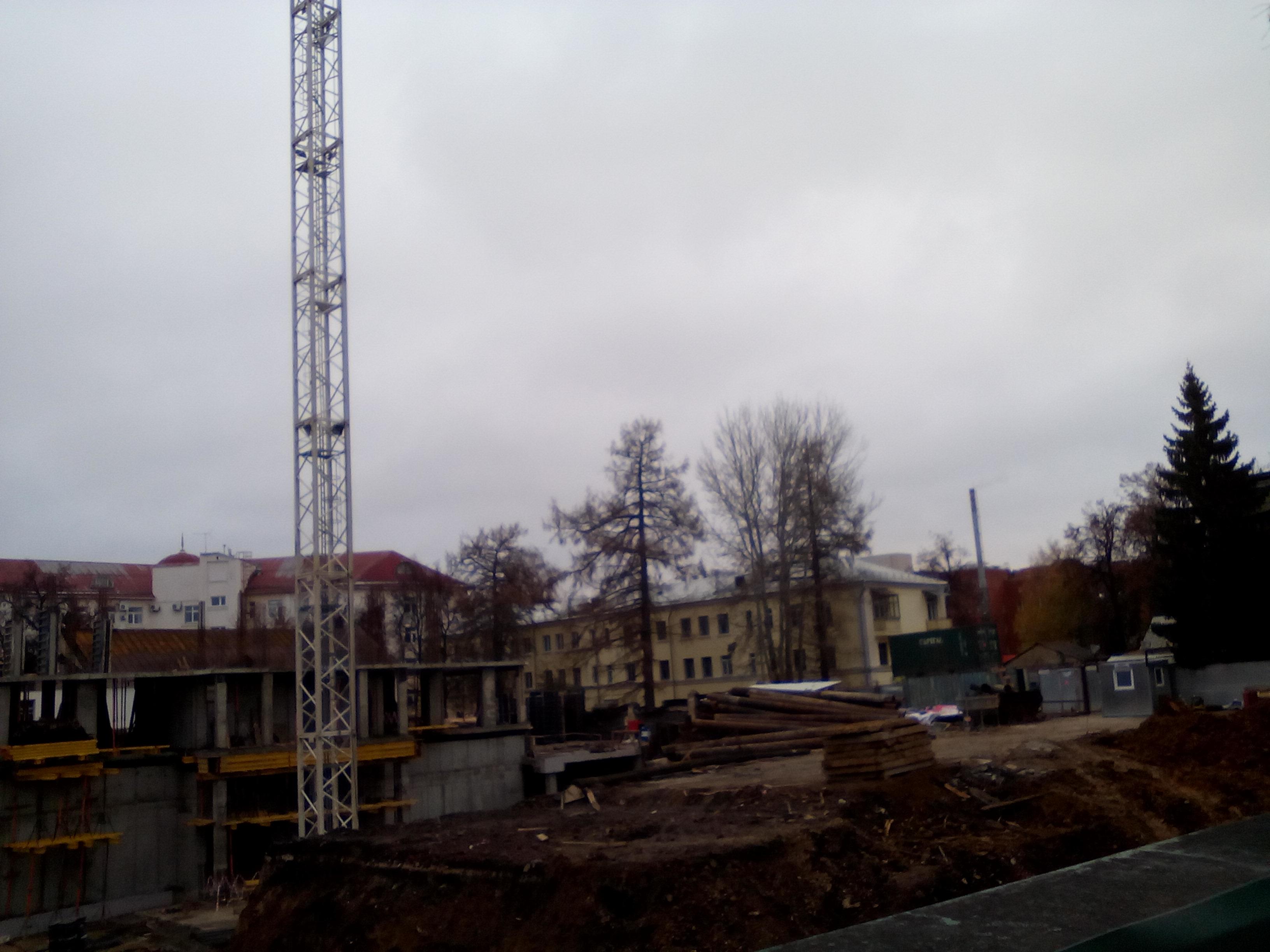 Фотографии жилого дома по улице Свободы 52 г. Тула. ООО Альянс Элит.