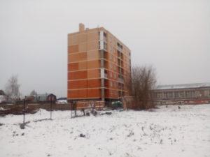 Фотографии жилого дома по улице Дружбы 32 г. Тула. ООО БААЛ Логистика.