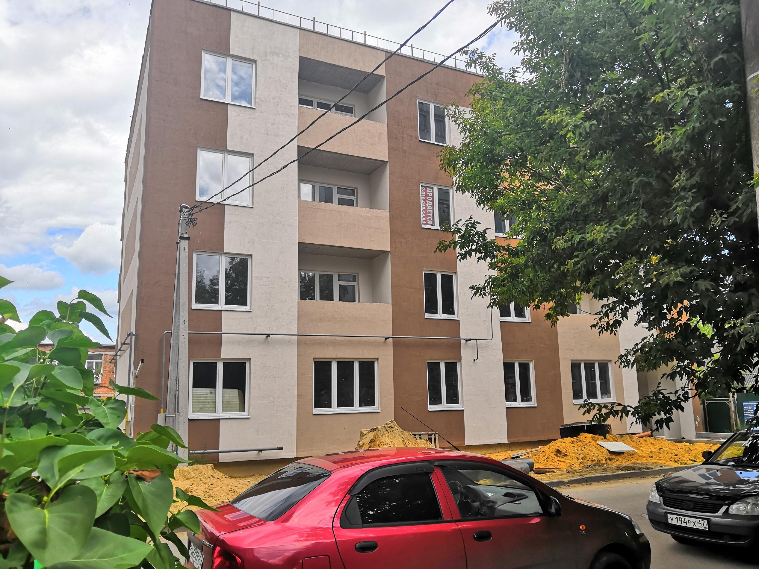 Фотографии жилого дома по улице Клары Цеткин 18 г. Тула ООО КБ Строй Лидер