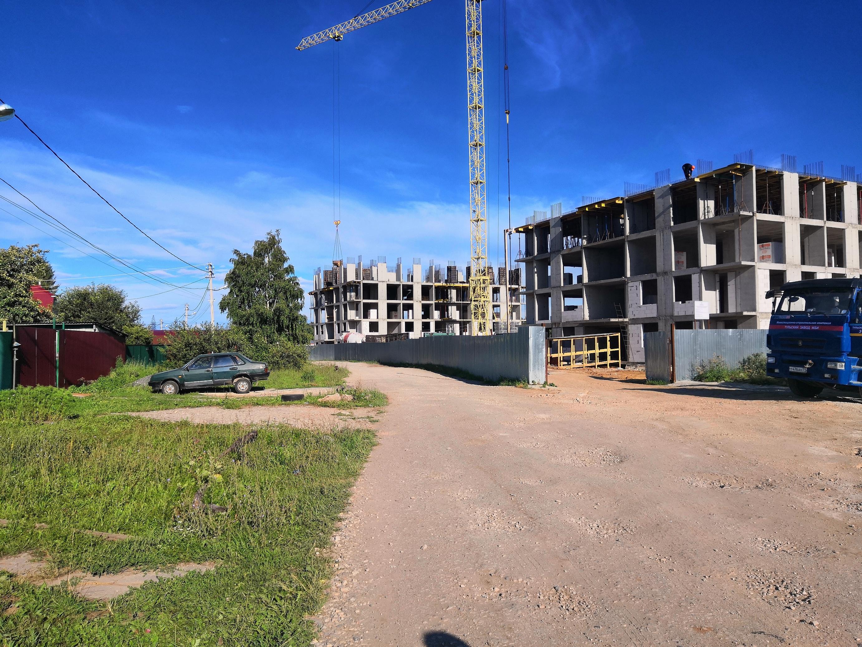 Смарт дом в Пролетарском районе по улице Ушинского г.Тулы ООО Ушинский квартал.