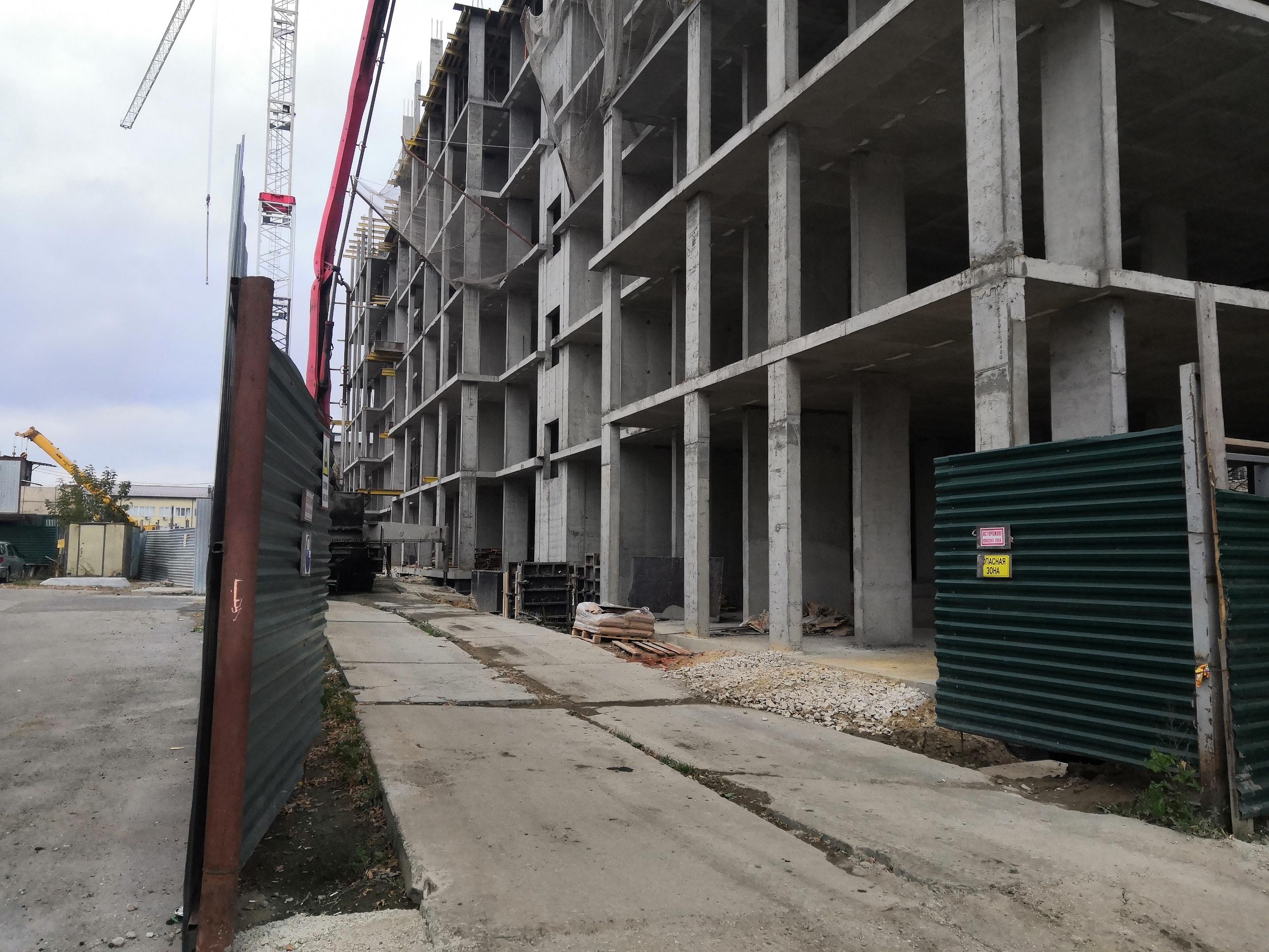 Фотографии жилого дома по улице Сойфера г. Тула застройщика ООО Вертикаль.
